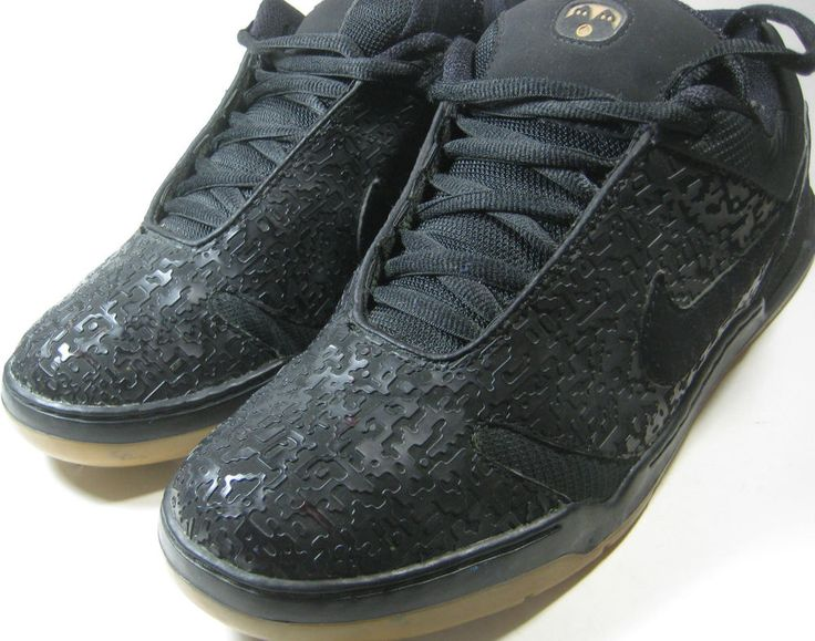 NIKE SB 11 Dunk Low Black Puzzle Fly One of a Kind RARE