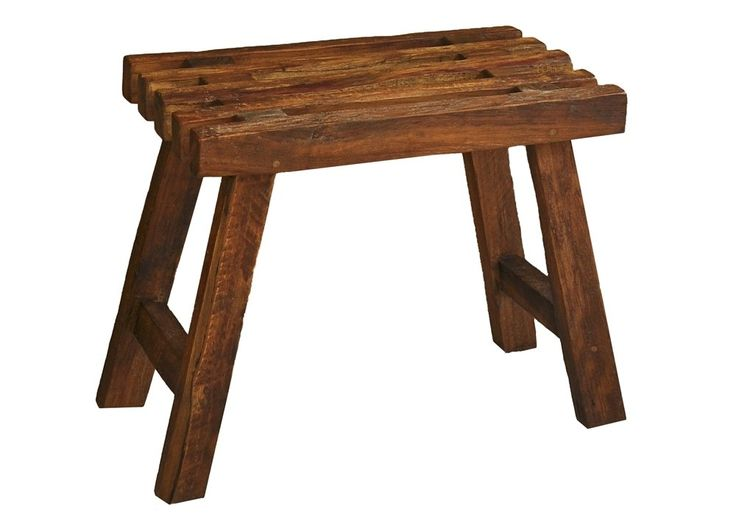 Hocker Aus Teakholz Massiv Holzhocker Teak Altholz 21206. Buy Now At Http://