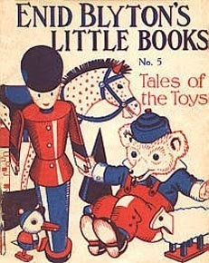 Enid Blyton's Little Books No.5 Tales of the Toys by Enid Blyton, http://www.amazon.co.uk/dp/B004YERFL0/ref=cm_sw_r_pi_dp_s0YYqb10V8RCD
