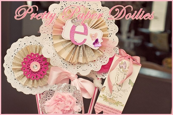 """DIY & Crafting Corner: Valentine's Day Ideas Using Paper Doilies at """" The White Library"""""""