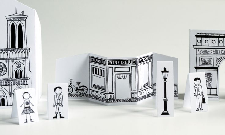 Made by Joel Travel Size Paper City Paris 2