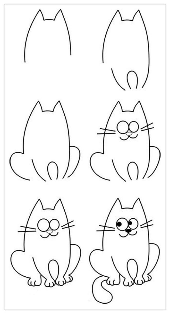 картинки чтобы нарисовать рисунок