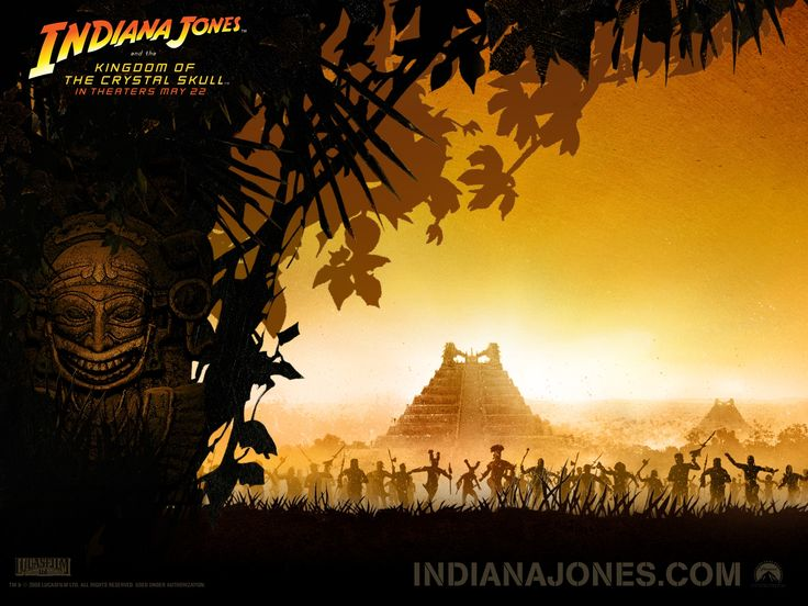 Индиана Джонс и Королевство хрустального черепа (2008)