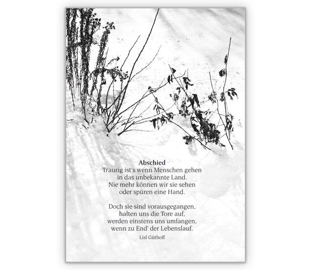 Abschiedskarte für einen geliebten Menschen - http://www.1agrusskarten.de/shop/abschiedskarte-fur-einen-geliebten-menschen/    00012_0_751, Abschied, Beileidskarte, gedenken,, Grußkarte, Helga Bühler, Klappkarte, trösten00012_0_751, Abschied, Beileidskarte, gedenken,, Grußkarte, Helga Bühler, Klappkarte, trösten
