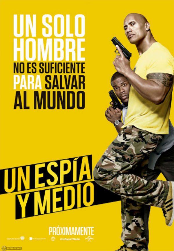 Noticias de cine y series: Un espía y medio: Póster español en EXCLUSIVA de lo nuevo de Dwayne Johnson