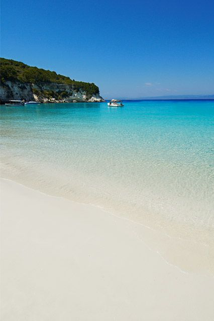 Unwind and restore on the stunningly beautiful beaches of Anti-Paxos #Greece #AntiPaxos #Paxos