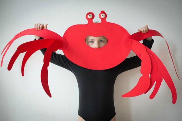 Máscaras y Disfraces caseros en papel para niños