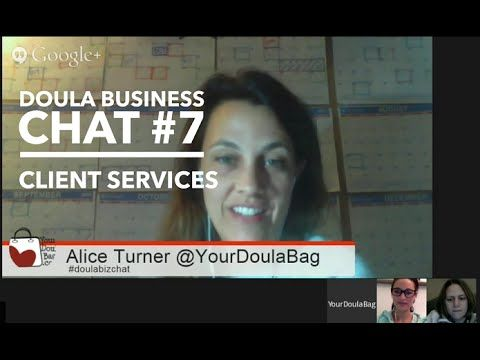 Doula Business Chat #7 - Client Services. Adding additional services to your business.