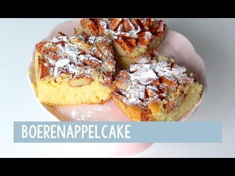Boerenappelcake - Foodgloss - YouTube