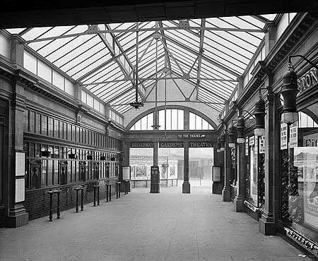 Walham Green Station, Fulham Broadway, 8 Feb 1911