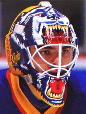 Curtis Joseph's, aka Cujo, St. Louis Blues Goalie Mask