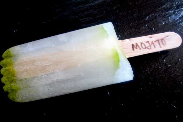 Mojito Popsicle Cocktail Recipe - definitely something I'm going to try this summer!: Cocktails Hour, Cocktail Recipes, Popsicles Cocktails, Popsicles Ideas, Popsicle Cocktails,  Meat Cleaver, Drinks, Cocktails Recipes, Mojito Popsicles