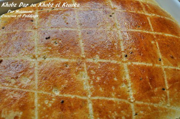 Khobz Dar ou Khobz el Koucha: Pain maison Algerien au Nigel - Couscous et Puddings
