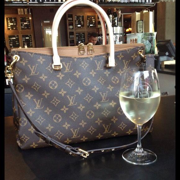 Louis Vuitton Pallas handbag in monogram