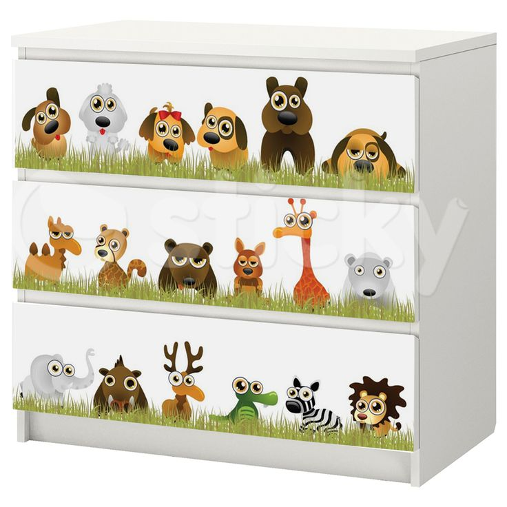 Furniture Sticker FUNNY ANIMALS by Sticky!!!
