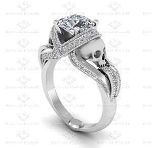 Engagement Rings With Skulls May 2017
