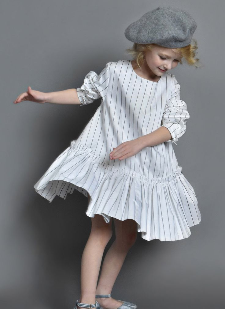 Moque Evie Dress in Ivory