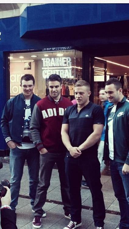 Ahhhhh! Cutie Irish rugby boys <3