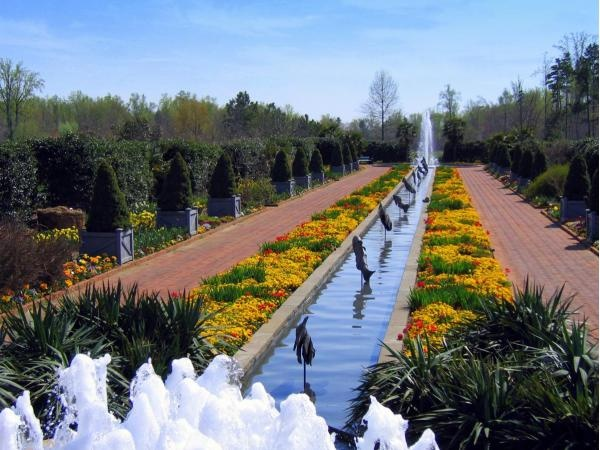Canal Garden At Daniel Stowe Botanical Gardens In North Carolina Favorite Places And Spaces