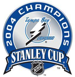 2004 Stanley Cup Champions Lightning LogoTampa Bay