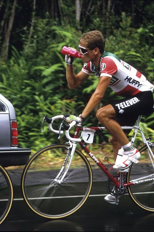 Andy Hampsten was one of the leaders on 7 Eleven in the mid to late 1980's.