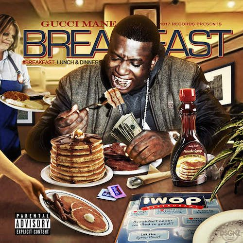 Prev1 of 2Next Gucci Mane returns with 3 new projects. The first one is titled Breakfast. Featuring 11 new songs with guest appearances by Young Scooter, ILOVEMAKONNEN, Verse Simmonds and Sonny BSM. You can pick it up now on iTunes. Stream on page 2. Prev1 of 2Next
