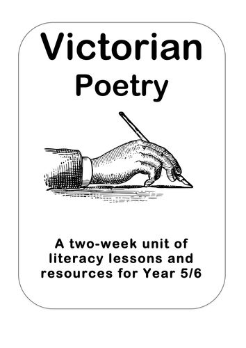 'Victorian Poetry' Literacy Planning Pack KS2
