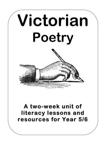 'Victorian Poetry' Literacy Planning Pack KS2