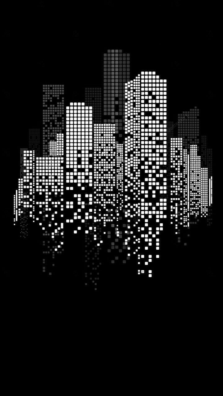 Pin By Karmin Sanchez On Fondos De Pantalla Minimalist Wallpaper Cityscape Drawing Geometric Art