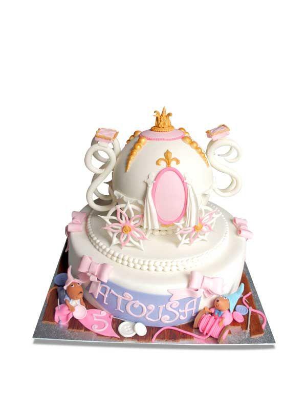 PuurTaart :: Taartengalerij - Verjaardag taart koets - Birthday cake carriage