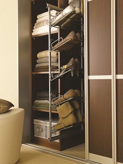 Pull Out 5 Tier Shoe Rack Wardrobe Interiors Pinterest