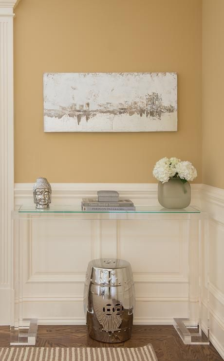 find this pin and more on acrylic console tables by