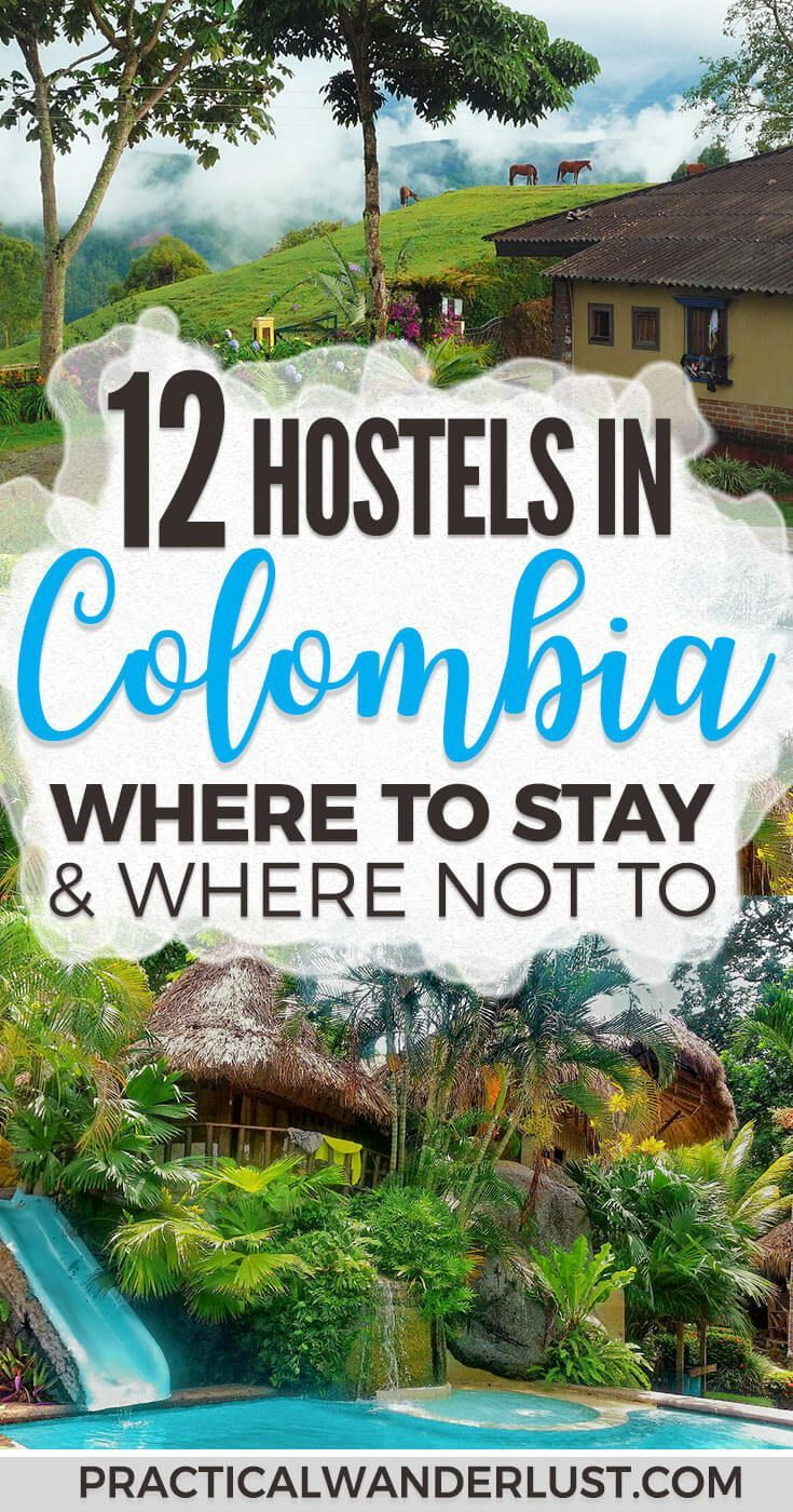 The hostels in Colombia are some of the best in South America. But which hostels should you stay in, and which should you skip? We went backpacking in Colombia for a month. These are our best Colombian hostel recommendations. #Colombia #BudgetTravel #SouthAmerica