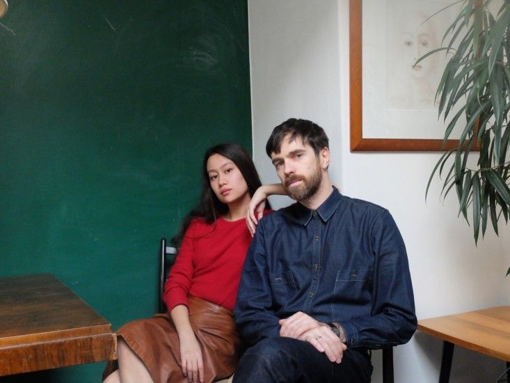 Christophe Lemaire and Sarah-Linh Tran, Photographed exclusively for Remodelista
