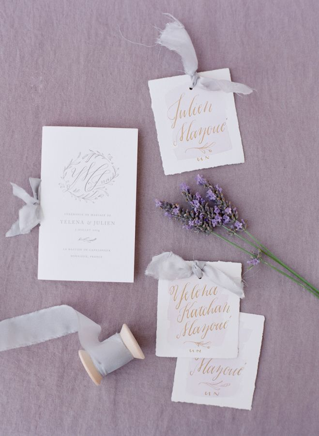 black and white wedding cards pinterest%0A Lavender Inspired Destination Wedding in France