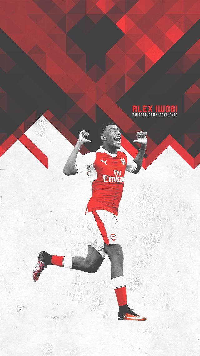 Alex Iwobi.  Lock screen.