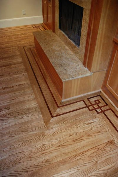 36 best images about flooring on pinterest wood floor Hardwood floor designs borders