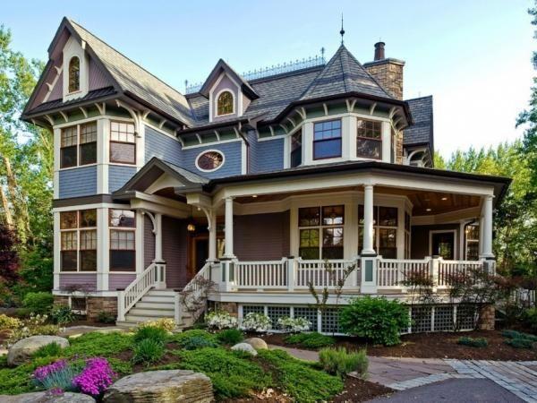 Oltre 25 fantastiche idee su case vittoriane su pinterest - Casa stile vittoriano ...
