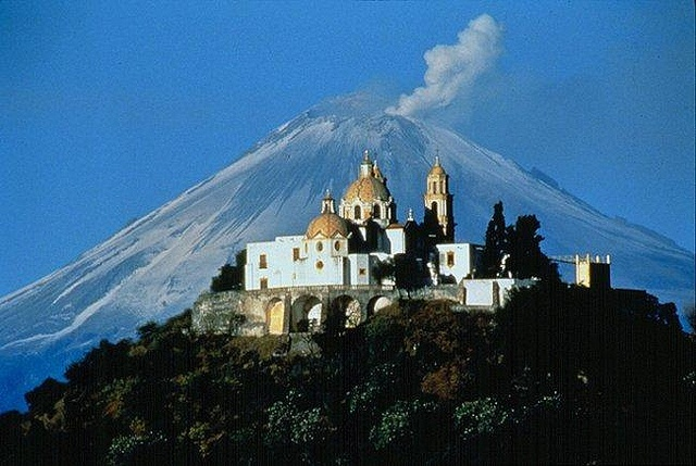 Earliest 16th-Century Monasteries on the Slopes of Popocatepetl
