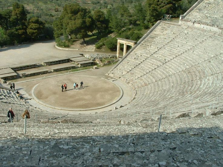 The trick is in the seats, and even the ancient architects didn't know what they had accomplished.