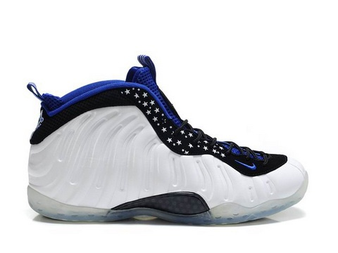 best loved fb142 a6984 buy cheap nike air foamposite one shooting stars black varsity royal white