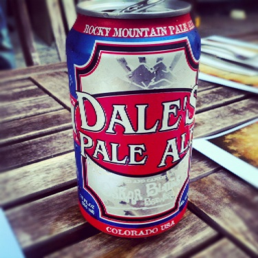 Dale's Pale Ale from Oskar Blues on tap at #ChasBeerWorks #beer #CHS