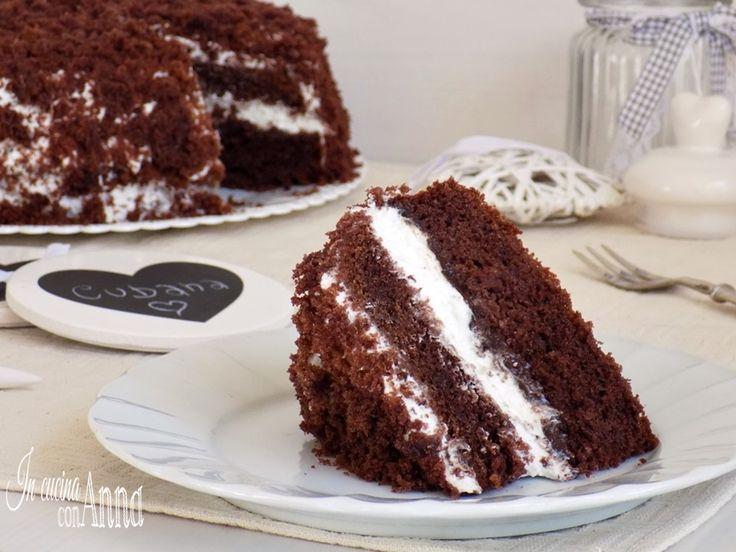Ecco un dolce che gli amanti del cioccolato non possono assolutamente perdere,la torta cubana