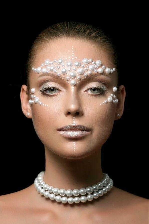 1000+ Ideas About Cool Halloween Makeup On Pinterest