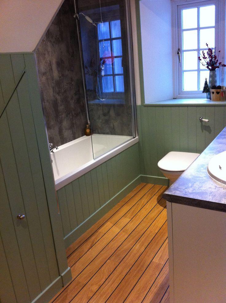 Sage green paint quick step lagune flooring Inspiring flooring