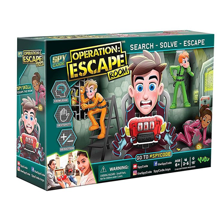 Spy Operation Escape Room Game