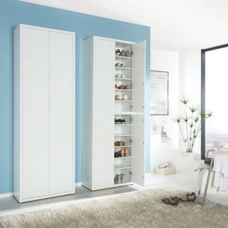 Sconto nábytek | botník FLAP - dostatek úložného prostoru na boty, textil a jiné osobní věci..