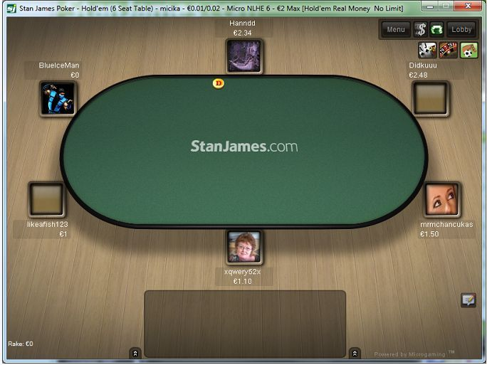 Stan James Poker has a gambling platform that extends across the board with a homepage that includes Sports and Casino. This is an advantage for a steady flow of poker traffic as players cross over with ease holding one account. There is never a lack of action at the tables with an average of 15,000 players at any given time. http://www.latestpokerbonuses.com/poker-rooms/stan-james/
