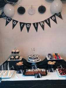 Table de fête Adidas Sweet table Adidas #sweettable #tabledefetes #tablededouceurs #party #birthday