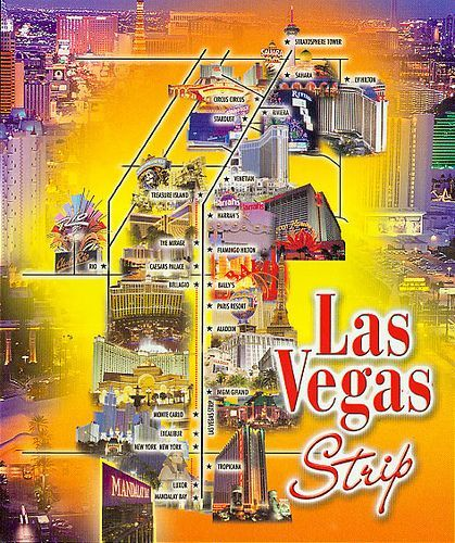 map of las vegas hotels on las vegas blvd